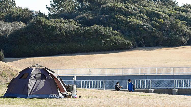 DSC 0655 - 富士山をうっすら鑑賞。茜浜緑地の散歩コース(茜浜緑道~茜浜運動公園)を紹介