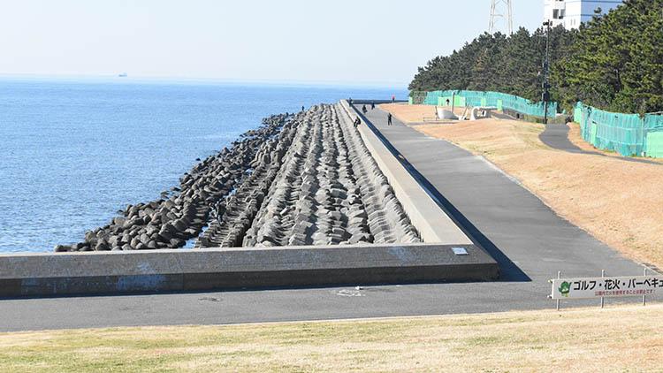 DSC 0665 - 富士山をうっすら鑑賞。茜浜緑地の散歩コース(茜浜緑道~茜浜運動公園)を紹介