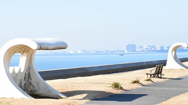 DSC 0682 - 富士山をうっすら鑑賞。茜浜緑地の散歩コース(茜浜緑道~茜浜運動公園)を紹介