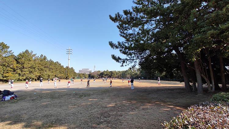 IMG 20210207 094841 - 富士山をうっすら鑑賞。茜浜緑地の散歩コース(茜浜緑道~茜浜運動公園)を紹介