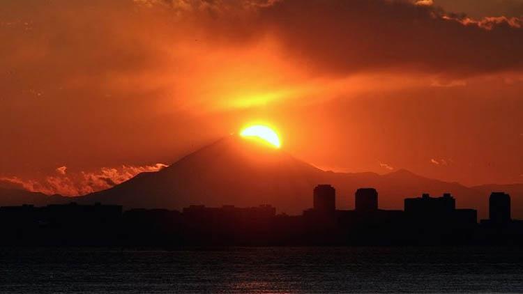diamond fuji - 富士山をうっすら鑑賞。茜浜緑地の散歩コース(茜浜緑道~茜浜運動公園)を紹介