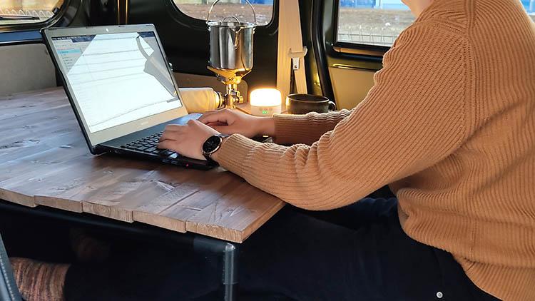 IMG0210303 171857 - 【エブリィ ベッドキット】車中泊仕様からリビング仕様にチェンジ!