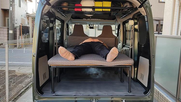 IMG 20210303 164802 - 【エブリィ ベッドキット】車中泊仕様からリビング仕様にチェンジ!