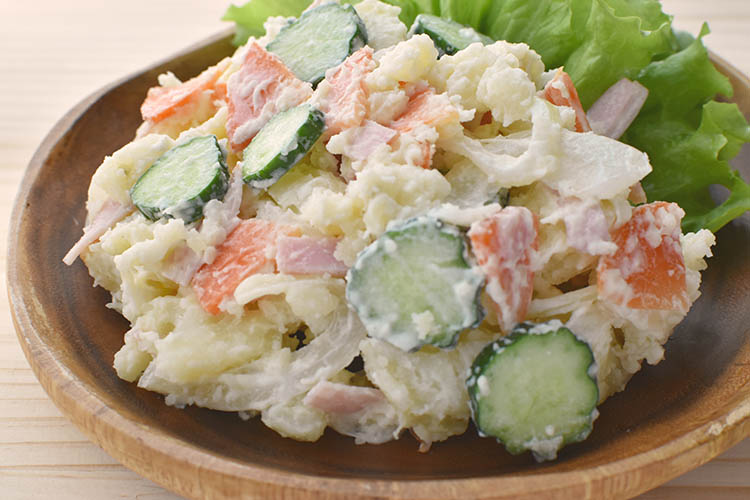 poteto salad - 【レンジで簡単】基本のポテトサラダ