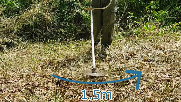 Snapshot 244 - 整地の工程は3つだけ。「刈る」「除去」「土ならし」を 初心者が実践