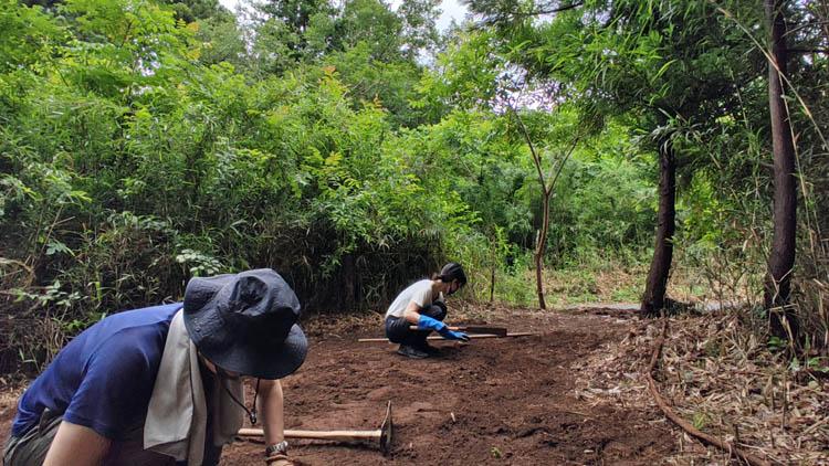 Snapshot 25 1 - 整地の工程は3つだけ。「刈る」「除去」「土ならし」を 初心者が実践