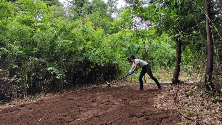 Snapshot 266 - 整地の工程は3つだけ。「刈る」「除去」「土ならし」を 初心者が実践
