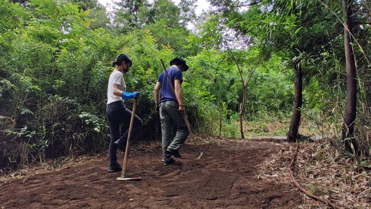 Snapshot 27 - 整地の工程は3つだけ。「刈る」「除去」「土ならし」を 初心者が実践