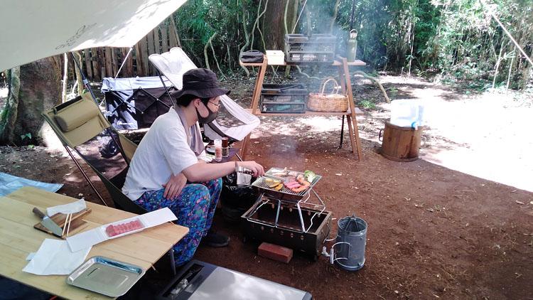 IMG20210717115020 - 自力で雑木林を整地。プライベートキャンプ場でBBQを楽しむ!