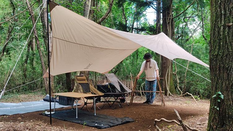 Snapshot 199 - 自力で雑木林を整地。プライベートキャンプ場でBBQを楽しむ!